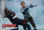 "Avengers 2 L'Ère d'Ultron figurine Movie Masterpiece Quicksilver 12"" Hot Toys"
