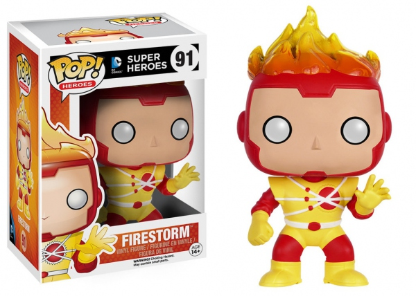 DC Comics Figurine POP! Heroes 91 Firestorm Funko