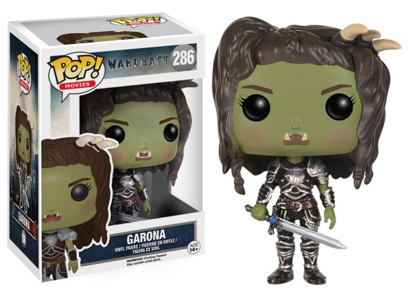 Warcraft Le Commencement POP! Movies 286 figurine Garona Funko WOW