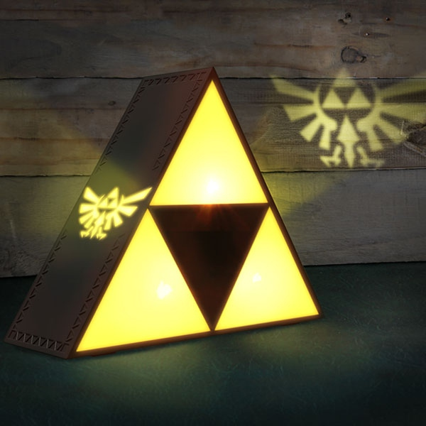 Legend of Zelda lampe Triforce Paladone