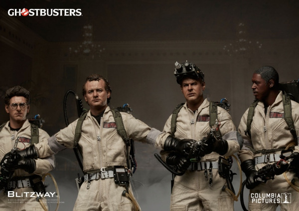 "SOS Fantômes : 4 figurines Special Pack 12"" Blitzway Ghostbusters EPUISE"