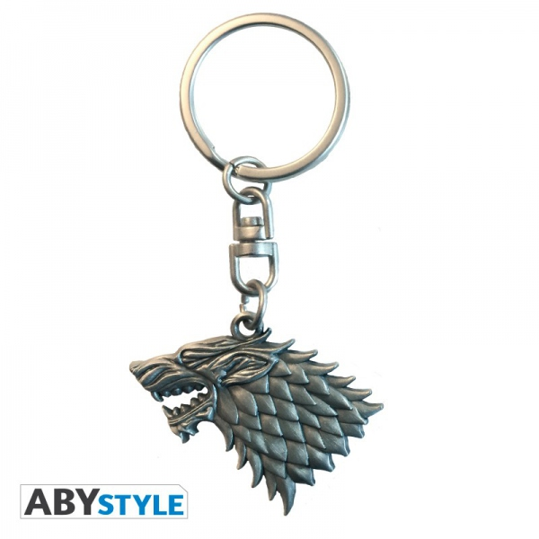 Game Of Thrones Porte-Clés 3D Stark Abystyle