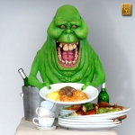 SOS Fantômes statue Slimer Ghostbusters Hollywood Collectibles