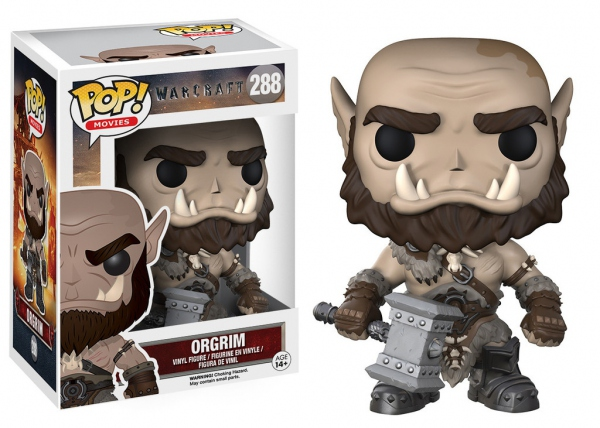 Warcraft Le Commencement POP! Movies 288 figurine Orgrim Funko WOW