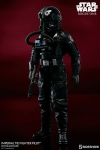 "Star Wars Rogue One figurine TIE Pilot 12"" Sideshow Exclusive"
