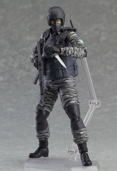 Metal Gear Solid 2 Sons of Liberty figurine Figma Gurlukovich Soldier Max Factory