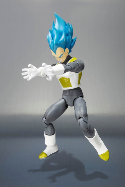 Dragon Ball Z Super Saiyan God Vegeta figurine Figuarts Bandai