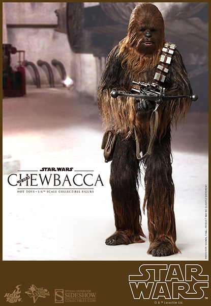 Star Wars figurine Movie Masterpiece Chewbacca 36 cm Hot Toys Reprint