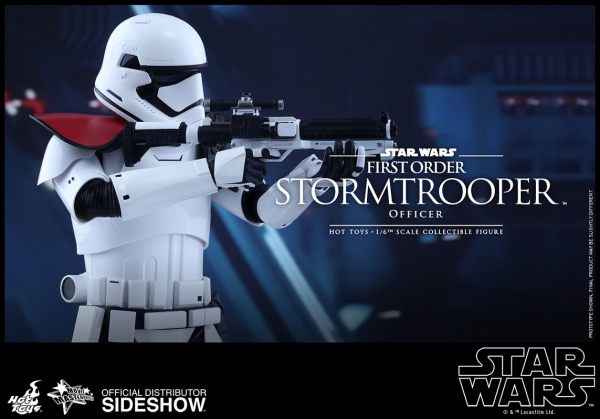 "Star Wars Episode VII figurine Movie Masterpiece First Order Stormtrooper Officer 12"" Hot Toys"