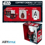Star Wars Pack Darth Vader Verre 29cl + porte-clés + Mini Mug Abystyle