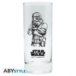 Star Wars Pack Stormtrooper Verre 29cl + Porte-clés + Mini Mug Abystyle