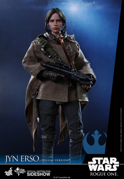 "Star Wars Rogue One figurine Movie Masterpiece Jyn Erso Deluxe Version 12"" Hot Toys"
