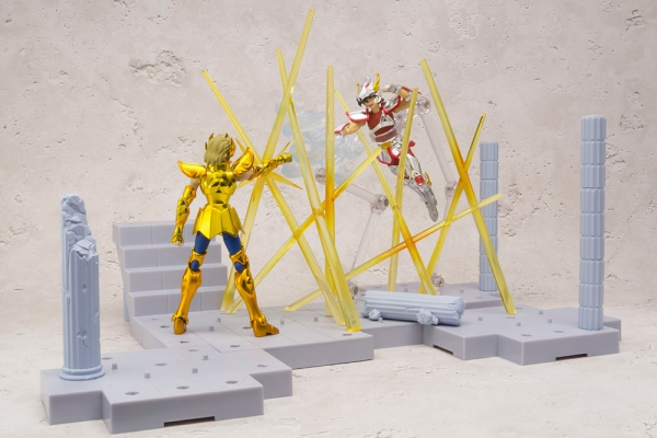 Saint Seiya D D Panoramation Figurine Aiolia du lion Chevalier d'or Bandai