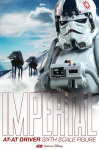 """Star Wars figurine Imperial AT-AT Driver 12"""" Sideshow"""