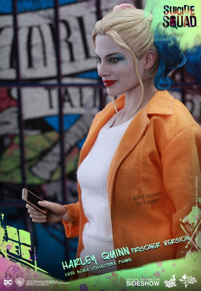 "Suicide Squad figurine Movie Masterpiece Harley Quinn Prisoner Version 12"" Hot Toys"