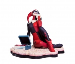 Batman The Animated Series statue Harley Quinn Waiting For My J Man Mondo