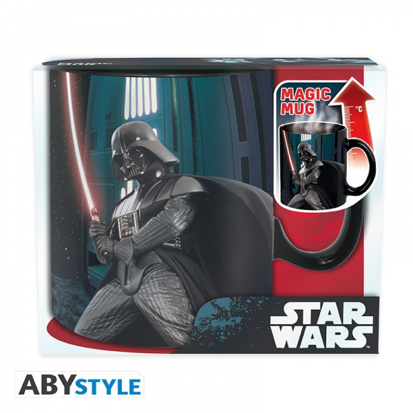 Star Wars Mug Heat Change 460 ml Darth Vader Abystyle