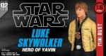 Star Wars buste Luke Skywalker Hero of Yavin Gentle Giant