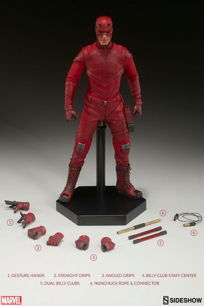 "Marvel Comics figurine Daredevil 12"" Sideshow"
