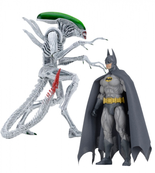 Batman/Aliens pack 2 figurines Batman vs Alien Neca