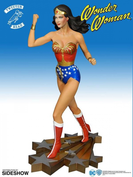 The New Adventures of Wonder Woman statue Wonder Woman Tweeterhead