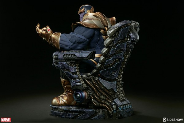 Marvel Comics statue Thanos on Throne Sideshow EPUISE