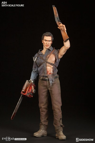 "Evil Dead 2 figurine Ash Williams 12"" Sideshow"