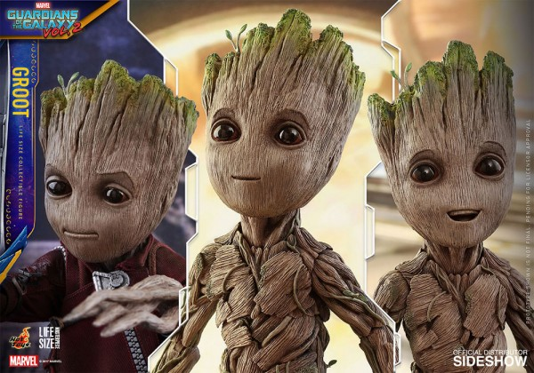 Les Gardiens de la Galaxie Vol. 2 figurine 1/1 Life-Size Masterpiece Groot Hot Toys