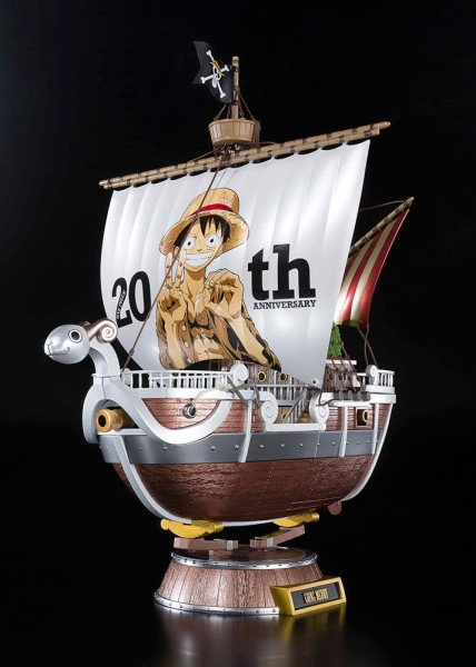 One Piece 20th Going Merry Prem Die Cast Bandai