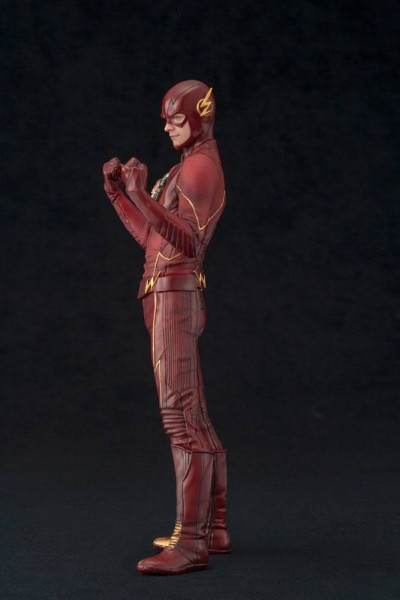 The Flash statue ARTFX+ The Flash EU Exclusive Kotobukiya