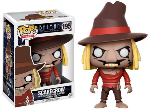Batman The Animated Series POP! Heroes 195 figurine Scarecrow Funko