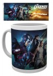 DC Legends of Tomorrow mug Key Art