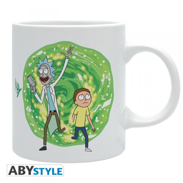 Rick And Morty mug 320 ml Portail Abystyle