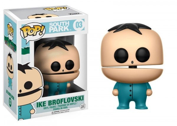 South Park POP! TV 03 figurine Ike Broflovski Funko