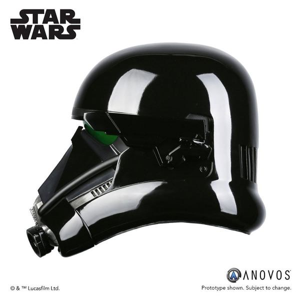 Star Wars Rogue One réplique 1/1 casque de Death Trooper Specialist Accessory Anovos