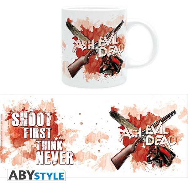 Ash Vs Evil Dead mug 320 ml Shoot First Abystyle