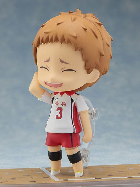 Haikyu!! figurine Nendoroid Morisuke Yaku Orange Rouge