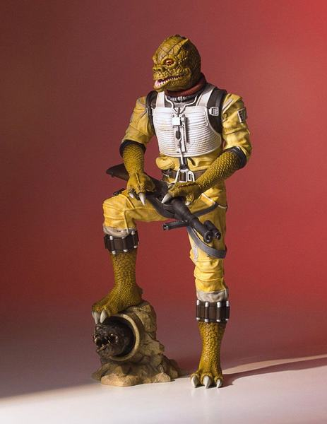 Star Wars statue Collectors Gallery Bossk Gentle Giant