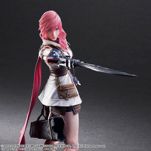 Dissidia Final Fantasy Play Arts Kai figurine Lightning Square Enix