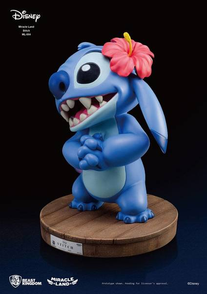 Disney statue Miracle Land Stitch Beast Kingdom EPUISE