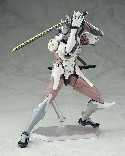 Overwatch figurine Figma Genji Good Smile Company
