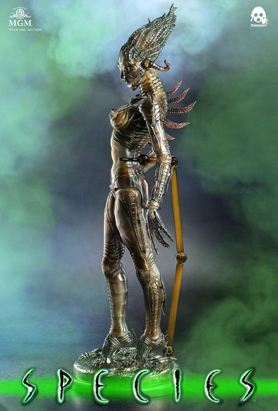 "La mutante Species figurine 1/6 Sil 12"" ThreeZero"