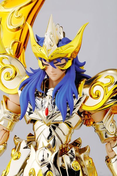 Saint Seiya Soul Of Gold Myth Cloth Ex Milo Chevalier d'Or du Scorpion Bandai Europe