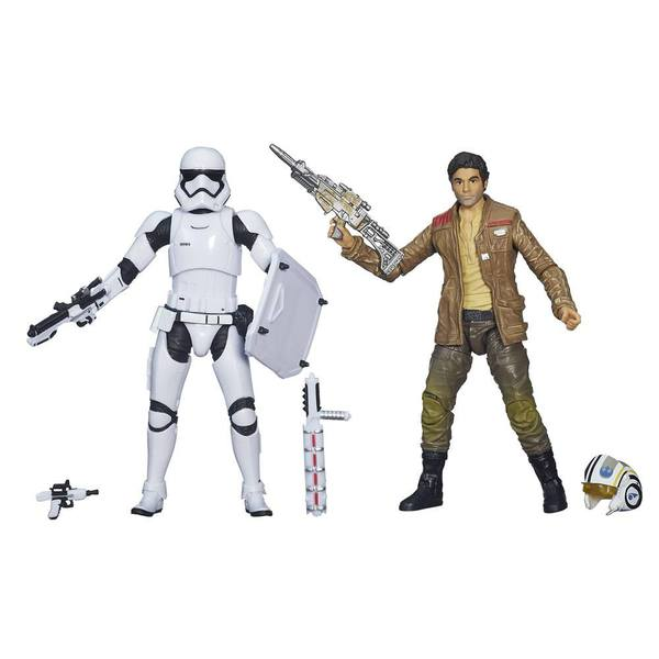 Star Wars Black Series pack figurines 2015 Poe Dameron & Stormtrooper Exclusive Hasbro