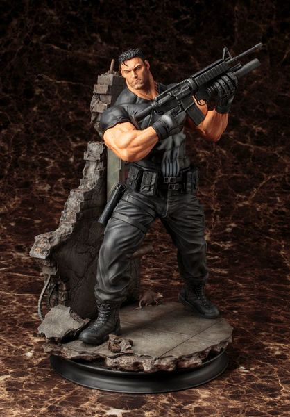 Marvel Comics Fine Art statue The Punisher Kotobukiya