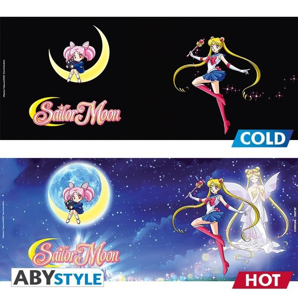 Sailor Moon mug Heat Change 460 ml Sailor & Chibi Abystyle