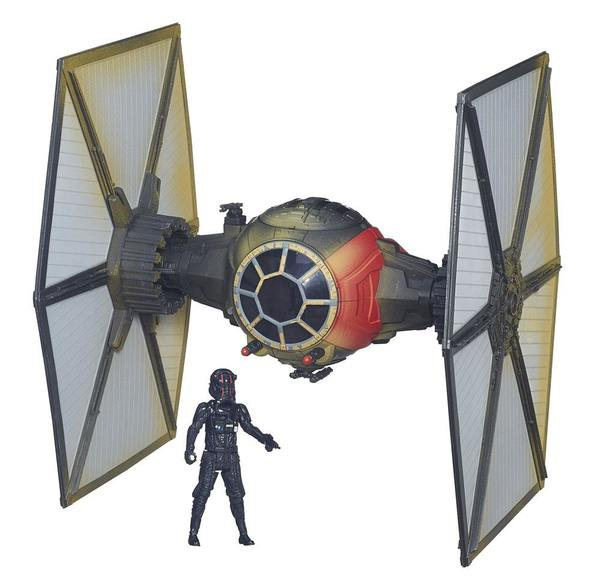 Star Wars Episode VII véhicule avec figurine 2015 First Order Special Forces TIE Fighter Exclusive