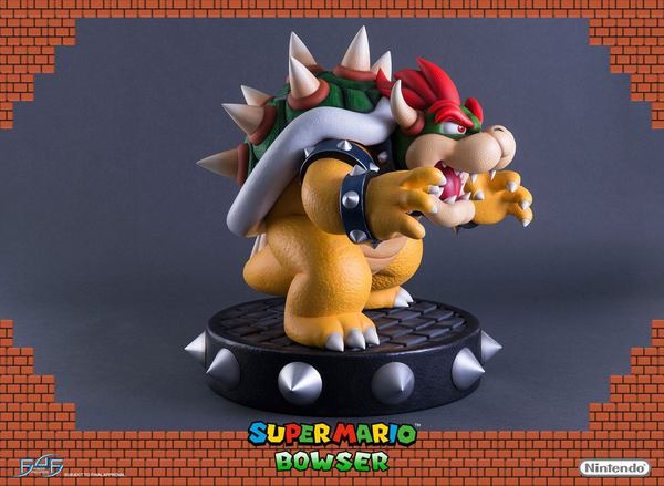 Super Mario statue Bowser First 4 Figures