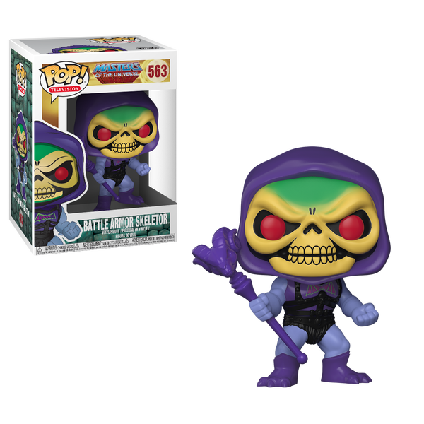 Masters of the Universe Figurine POP! Television 563 Battle Armor Skeletor MOTU Funko