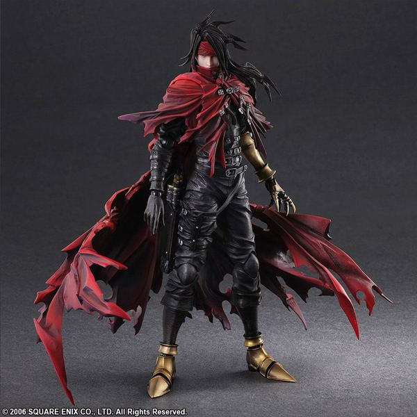 Dirge of Cerberus Final Fantasy VII figurine Play Arts Kai Vincent Valentine Square Enix